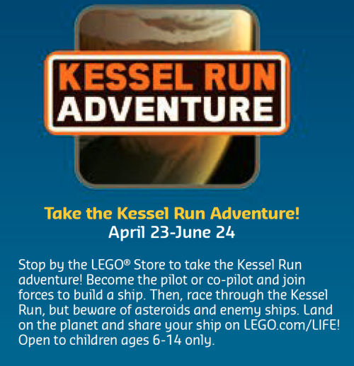 LEGO Star Wars Solo Kessel Run brand store event